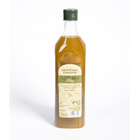 Caja de 9 botellas de 1 litro de aceite de oliva virgen extra